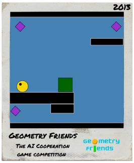 Geometry Friends : The AI Cooperation Game Competition