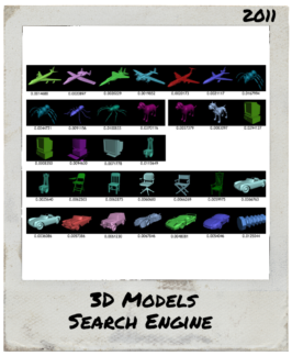 3D Models Search Engine – 2011